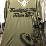 Straight Line Disc Golf Dry Fit Shirt 10 Green Small