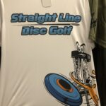 Straight Line Disc Golf Dry Fit Shirt 6 White Small